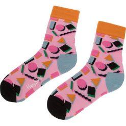 Skarpety Wysokie Damskie HAPPY SOCKS - NIN01-3000 Różowy. Czerwone skarpetki damskie Happy Socks, z bawełny. Za 34,90 zł.