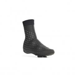 Ochraniacze na buty na rower ROADRACING 900 5 mm. Czarne buty skate męskie marki B'TWIN, z materiału, rowerowe. Za 149,99 zł.