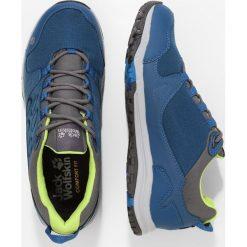 Jack Wolfskin ACTIVATE TEXAPORE LOW Obuwie hikingowe poseidon blue. Zielone buty sportowe damskie Jack Wolfskin, z materiału, outdoorowe. Za 379,00 zł.