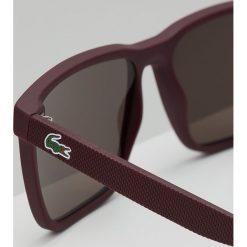 Okulary przeciwsłoneczne męskie: Lacoste Okulary przeciwsłoneczne matte burgundy