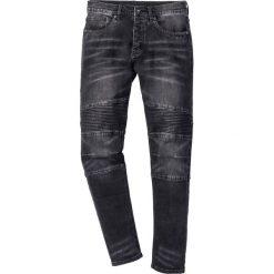 """Dżinsy ze stretchem Slim Fit Straight bonprix czarny """"stone"""". Czarne jeansy męskie relaxed fit marki bonprix. Za 129,99 zł."""