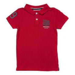 T-shirty chłopięce z krótkim rękawem: Koszulka polo w kolorze czerwonym
