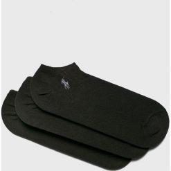 Polo Ralph Lauren - Skarpety (3-pack). Czarne skarpetki męskie Polo Ralph Lauren, z bawełny. Za 89,90 zł.