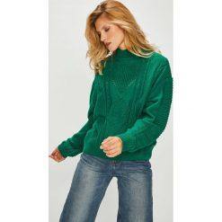 Pepe Jeans - Sweter. Szare swetry klasyczne damskie Pepe Jeans, l, z dzianiny. Za 319,90 zł.