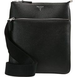 Serapian Torba na ramię black. Czarne torby na ramię męskie Serapian. W wyprzedaży za 954,85 zł.