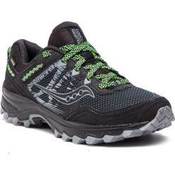 Buty SAUCONY - Excursion TR11 Gtx S20453-1 Black. Czarne buty do biegania męskie Saucony, z gore-texu, gore-tex. W wyprzedaży za 309,00 zł.