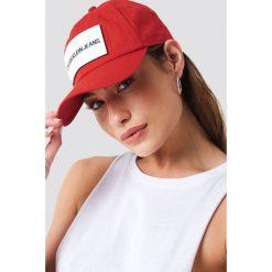 Czapki damskie: Calvin Klein Czapka Calvin Klein Jeans Cap W - Red