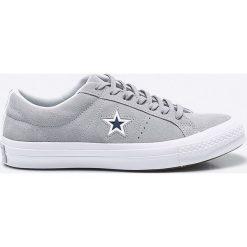 Converse - Tenisówki. Szare tenisówki męskie marki Converse, z gumy, na sznurówki. W wyprzedaży za 269,90 zł.