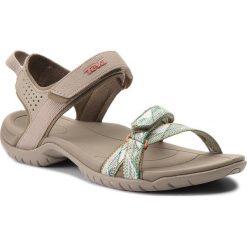 Sandały TEVA - Verra 1006263 Suri Taupe Multi. Brązowe sandały damskie Teva, z materiału. W wyprzedaży za 199,00 zł.