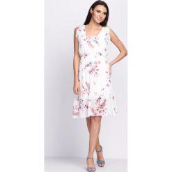 Sukienki: Biała Sukienka Drunk in Love