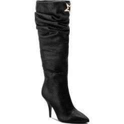 Kozaki PATRIZIA PEPE - 2V8055/A3EK-K103 Nero. Czarne buty zimowe damskie marki Patrizia Pepe, ze skóry. W wyprzedaży za 1259,00 zł.
