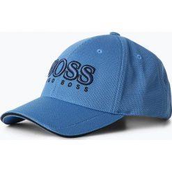 BOSS Athleisurewear - Męska czapka z daszkiem, niebieski. Niebieskie czapki z daszkiem męskie BOSS Athleisurewear, z nadrukiem. Za 179,95 zł.