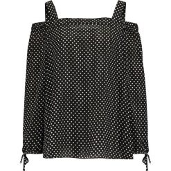 Bluzki asymetryczne: Evans SPOT COLD SHOULDER  Bluzka black