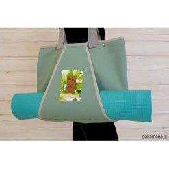 Torba z kieszenią na matę do jogi/ Forest. Szare torebki klasyczne damskie Pakamera, z tkaniny. Za 219,00 zł.