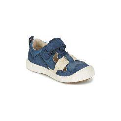 Sandały Dziecko  Kickers  ZIGUERO. Niebieskie sandały chłopięce Kickers. Za 231,20 zł.