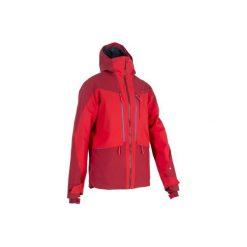 Kurtka narciarska All-Mountain AM900 męska. Czerwone kurtki narciarskie męskie WED'ZE, m, z materiału. Za 499,99 zł.