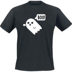 T-shirty męskie z nadrukiem: Boo! T-Shirt czarny
