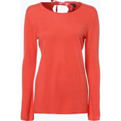 Swetry damskie: s.Oliver Black Label – Sweter damski z czystego kaszmiru, pomarańczowy
