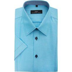 Koszula GILBERTO 15-03-11-K. Brązowe koszule męskie na spinki marki QUECHUA, m, z elastanu, z krótkim rękawem. Za 129,00 zł.