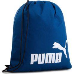 Plecak PUMA - Phase Gym Sack 074943 09 Limoges. Niebieskie plecaki męskie Puma, z materiału, sportowe. Za 49,00 zł.