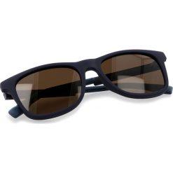 Okulary przeciwsłoneczne BOSS - 0281/S Blue PJP. Niebieskie okulary przeciwsłoneczne damskie marki Boss. W wyprzedaży za 399,00 zł.