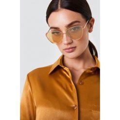Le Specs Okulary przeciwsłoneczne Echo - Gold. Szare okulary przeciwsłoneczne damskie lenonki marki ORAO. Za 283,95 zł.