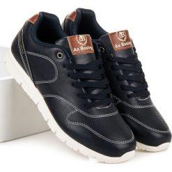SPORTOWE OBUWIE NA WIOSNĘ. Niebieskie buty skate męskie AX BOXING, na wiosnę. Za 99,95 zł.