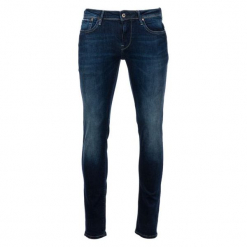 Pepe Jeans Jeansy Męskie Hatch 32/34, Ciemny Niebieski. Niebieskie jeansy męskie slim Pepe Jeans. Za 499,00 zł.