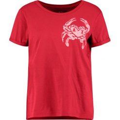 Odzież damska: Armani Exchange Tshirt z nadrukiem bright cranberry