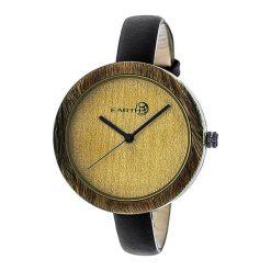 """Zegarki męskie: Zegarek """"ETHEW3704"""" w kolorze brązowo-czarnym"""
