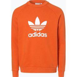 Adidas Originals - Męska bluza nierozpinana, pomarańczowy. Brązowe bluzy męskie rozpinane marki adidas Originals, z bawełny. Za 199,95 zł.