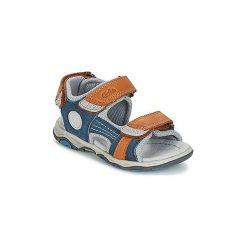 Sandały Dziecko  Aster  BAMER. Niebieskie sandały chłopięce marki ASTER. Za 231,20 zł.