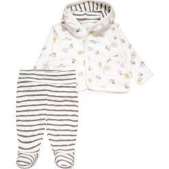 Swetry chłopięce: STUPS organic SET Kardigan offwhite
