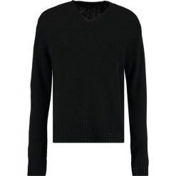 Tiger of Sweden Jeans BIGVEE  Sweter black. Czarne kardigany męskie marki Tiger of Sweden Jeans, m, z jeansu. W wyprzedaży za 350,35 zł.