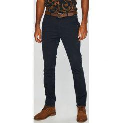 Medicine - Spodnie Basic. Czarne chinosy męskie MEDICINE, w paski, z bawełny. W wyprzedaży za 103,90 zł.