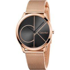 ZEGAREK CALVIN KLEIN MINIMAL GENT K3M21621. Czarne zegarki męskie marki Calvin Klein, szklane. Za 1169,00 zł.