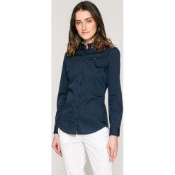 Tommy Jeans - Koszula. Szare koszule jeansowe damskie Tommy Jeans, s, casualowe, z długim rękawem. W wyprzedaży za 259,90 zł.