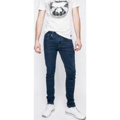 Pepe Jeans - Jeansy Finsbury. Niebieskie jeansy męskie skinny Pepe Jeans, z bawełny. W wyprzedaży za 299,90 zł.
