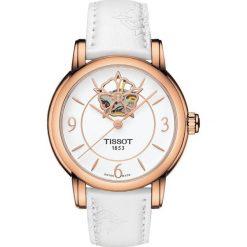RABAT ZEGAREK TISSOT T-Lady T050.207.37.017.04. Białe zegarki damskie TISSOT, ze stali. W wyprzedaży za 2723,60 zł.