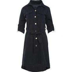 Czarna Sukienka Do You Wanna Rock. Czarne sukienki marki Born2be, m, rockowe, z koszulowym kołnierzykiem, koszulowe. Za 89,99 zł.