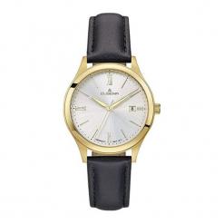 """Zegarek """"4460731"""" w kolorze czarno-złotym. Czarne, analogowe zegarki męskie Dugena & Nautec No Limit, ze stali. W wyprzedaży za 289,95 zł."""