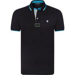 """Koszulki polo: Koszulka polo """"Cubic"""" w kolorze czarnym"""