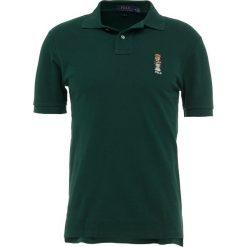 Polo Ralph Lauren BASIC MESH SLIM FIT Koszulka polo college green. Zielone koszulki polo Polo Ralph Lauren, m, z bawełny. Za 549,00 zł.