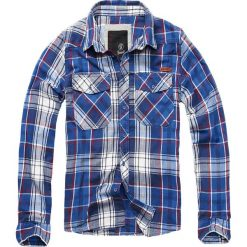 Brandit Checkshirt Koszula niebieski/czerwony/biały. Czerwone koszule męskie na spinki marki Cropp, l. Za 121,90 zł.