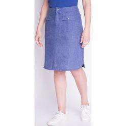 Spódnice wieczorowe: Spódnica w kolorze niebieskim