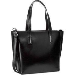 Torebka CREOLE - RBI643  Czarny. Czarne torebki klasyczne damskie Creole, ze skóry. W wyprzedaży za 299,00 zł.