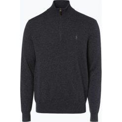 Polo Ralph Lauren - Męski sweter z wełny merino, szary. Szare swetry klasyczne męskie Polo Ralph Lauren, m, z materiału, polo. Za 759,95 zł.