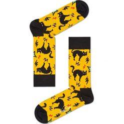 Happy Socks - Skarpety Halloween Gift Box. Pomarańczowe skarpetki męskie Happy Socks, z bawełny. W wyprzedaży za 84,90 zł.
