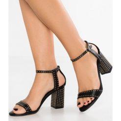 Carvela GOGO Sandały black. Czarne sandały damskie Carvela, z materiału. Za 529,00 zł.