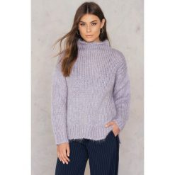 Golfy damskie: 2NDDAY Sweter Drona – Purple